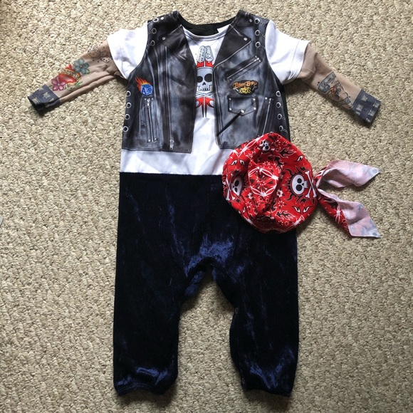 InCharacter Born to be Wild Infant//Toddler Costume
